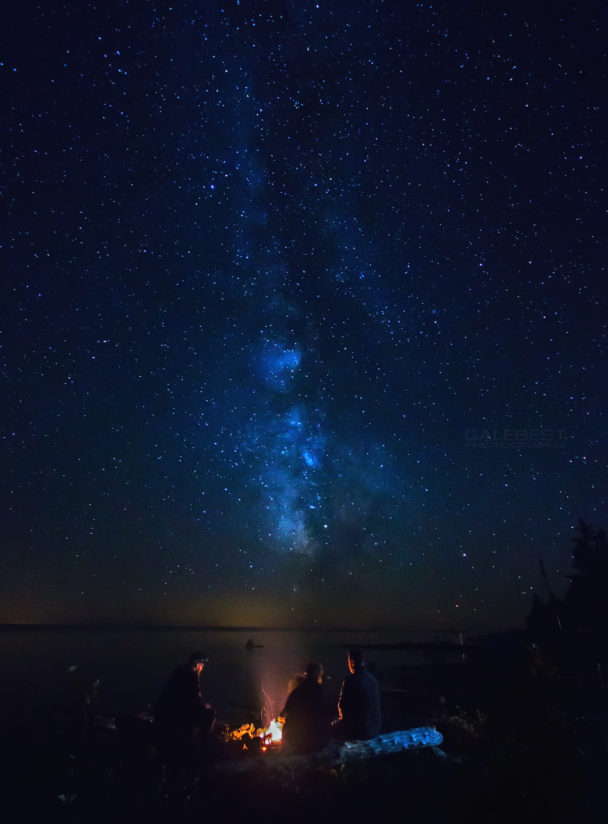 Milky Way Campfire