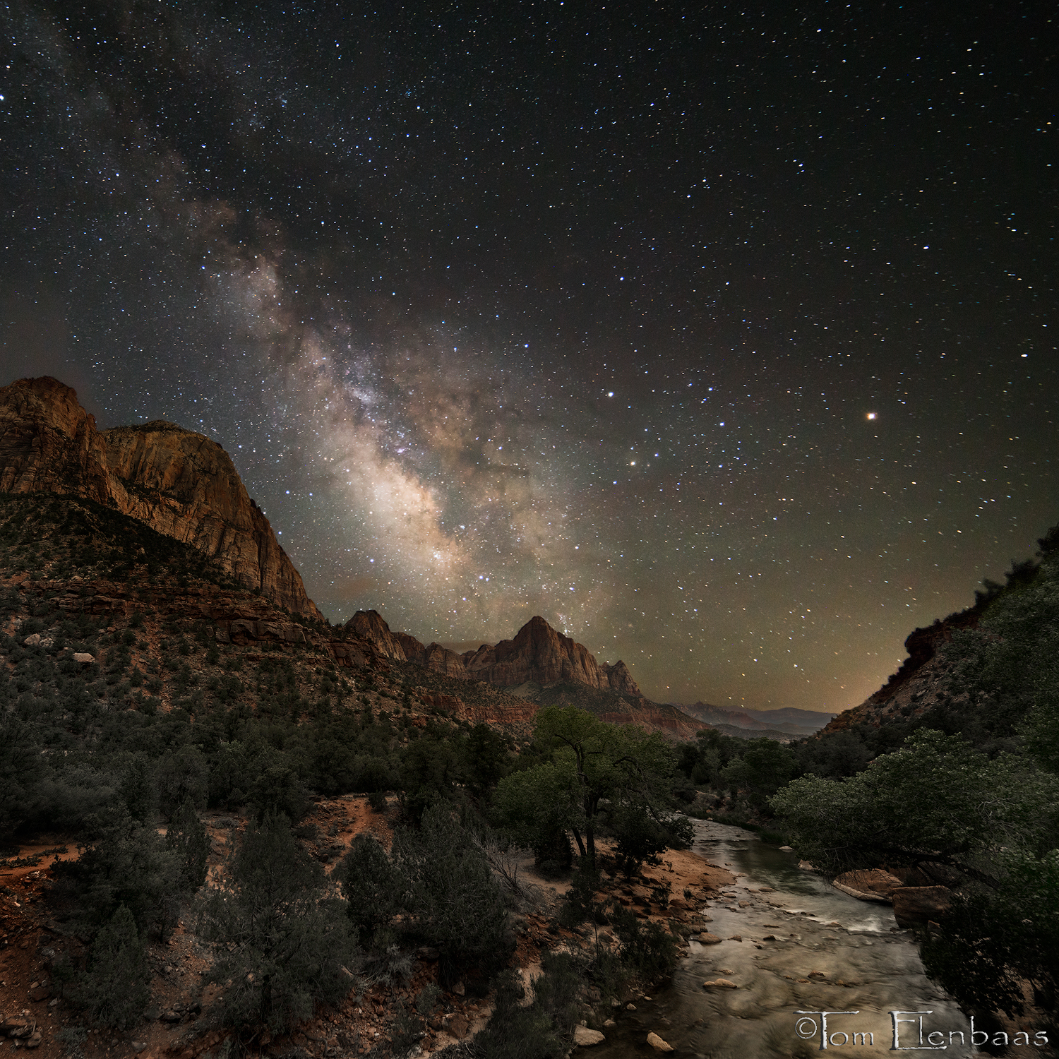 Watchman Milky Way