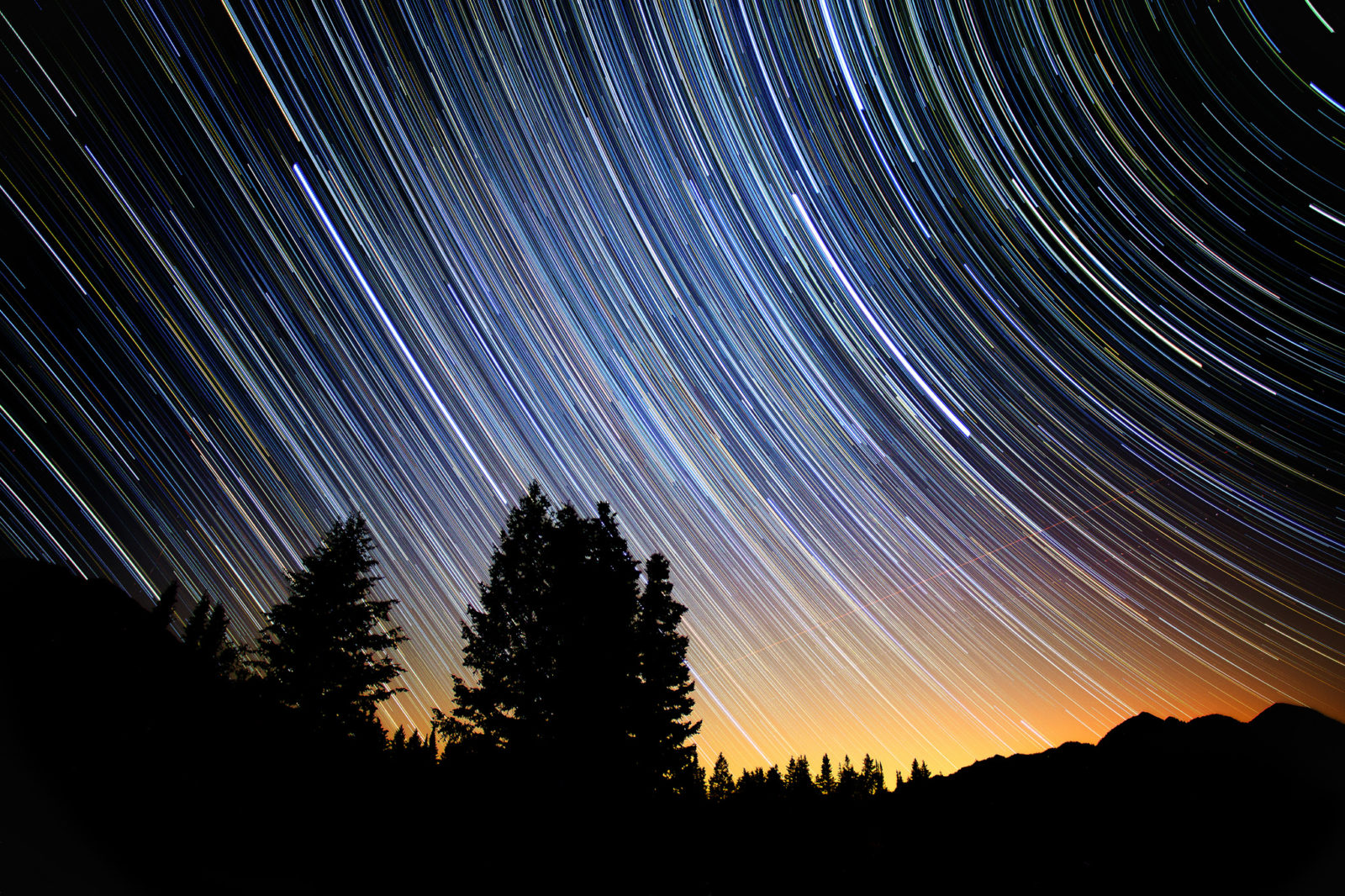 Uinta Star Trails