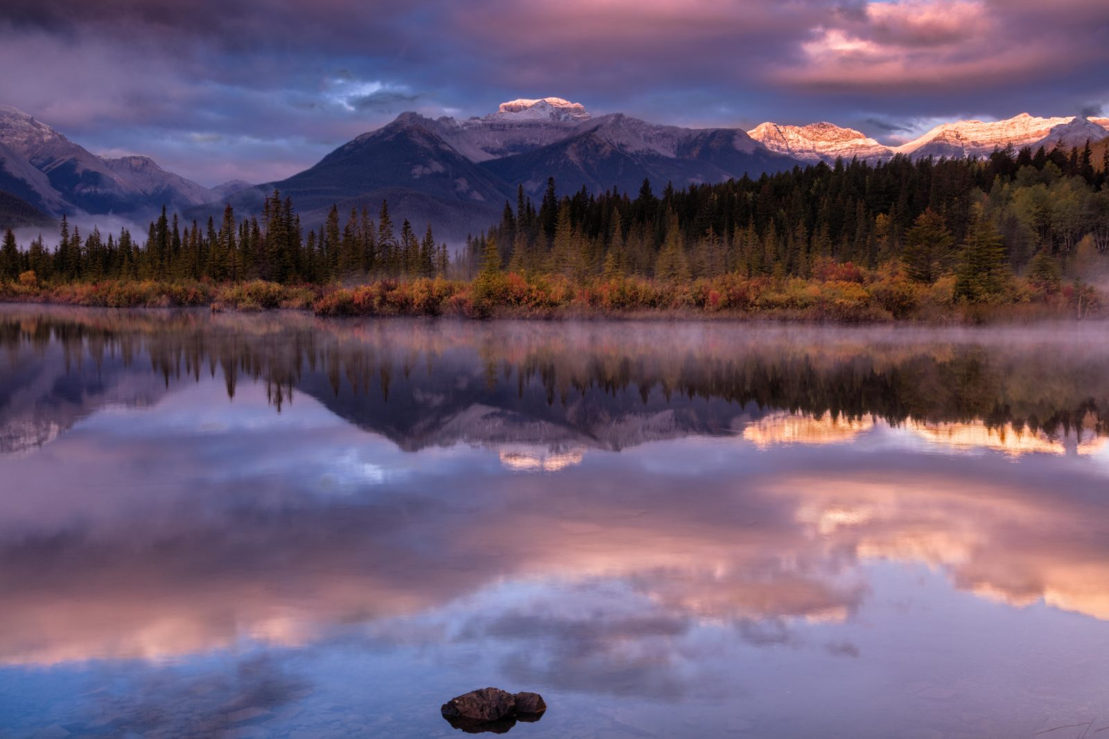 Autumn Sunrise at Vermillion Lake