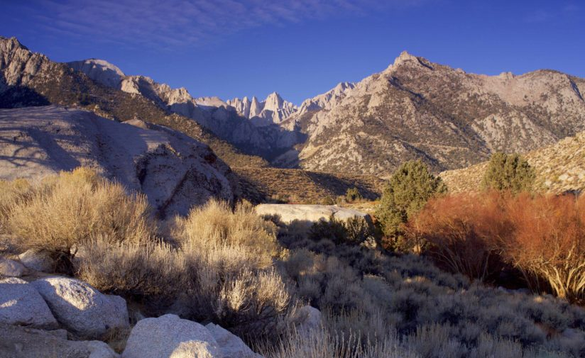 Mt. Whitney early fall morning