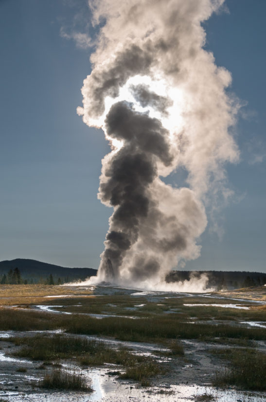 The Dark Side – Old Faithful Geyser