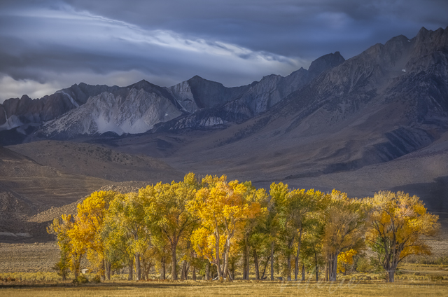 Eastern Sierra Nevada in Autumn