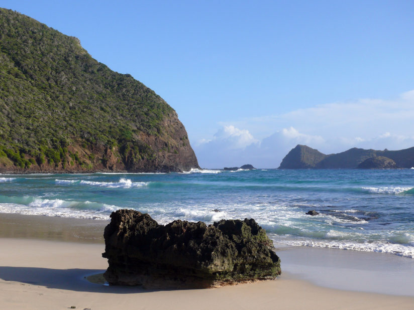 Ned's Beach at Lord Howe island