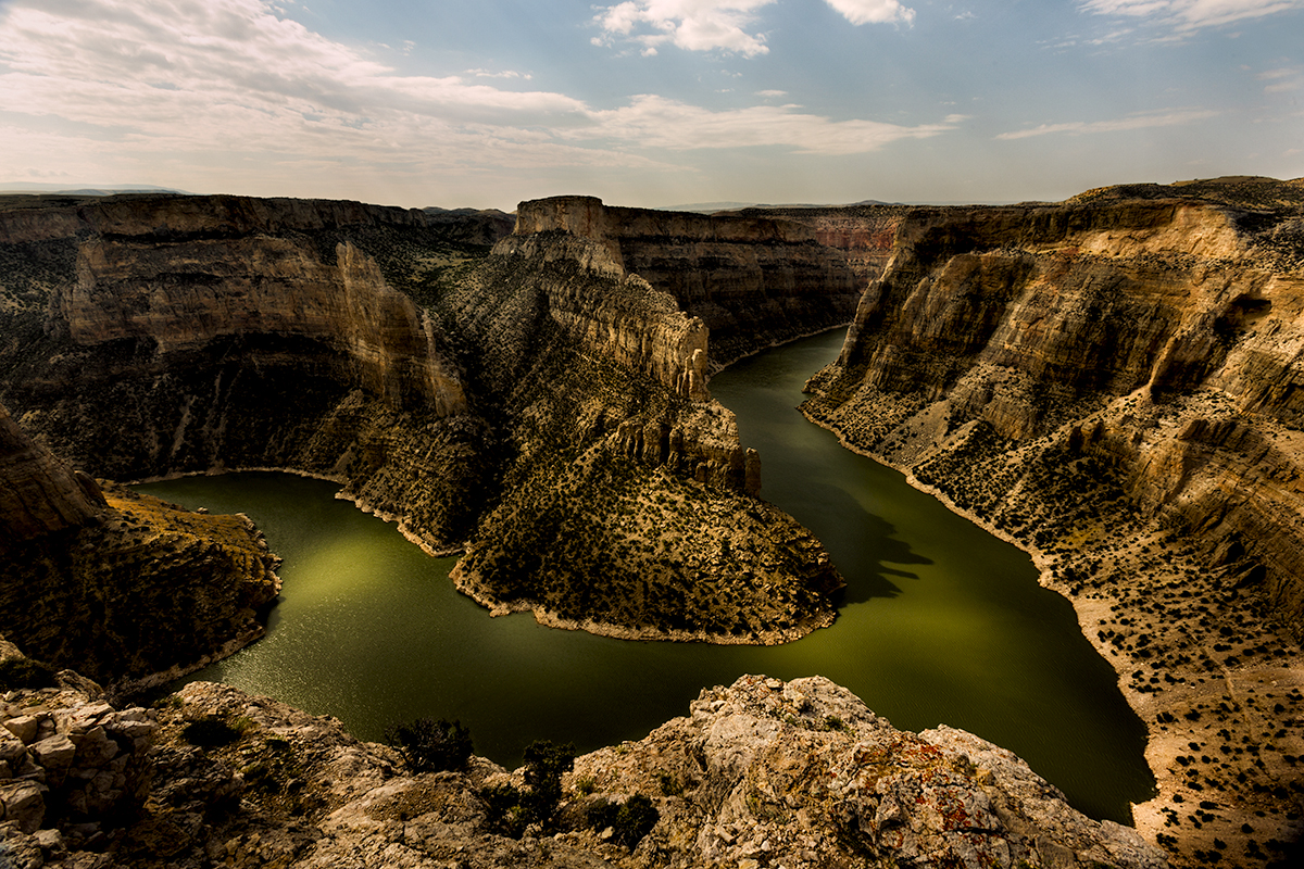Devil's Canyon, Bighorn River, Montana