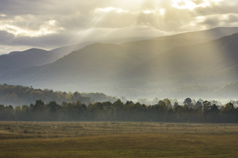 Morning Sun in Cades Cove