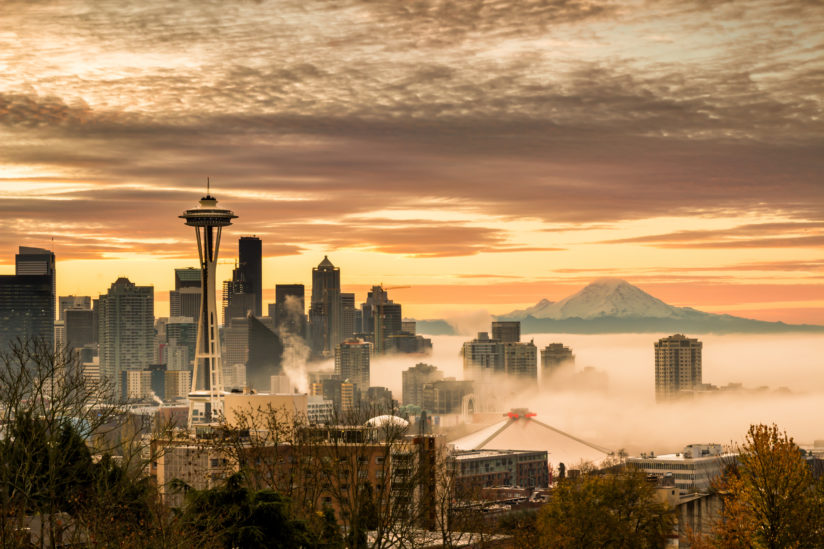 Kerry Park Sunrise