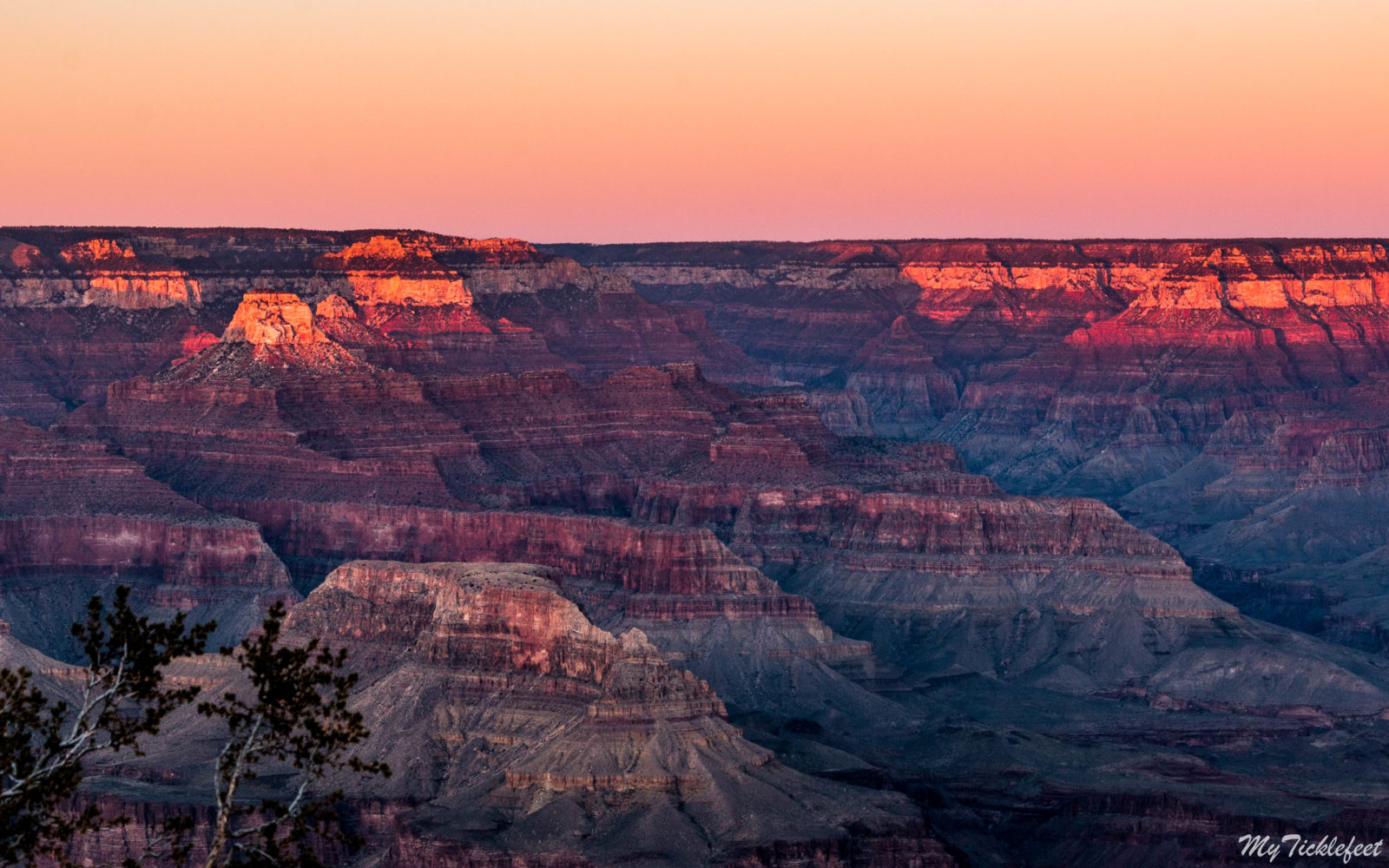 Sunset at Grand Canyon