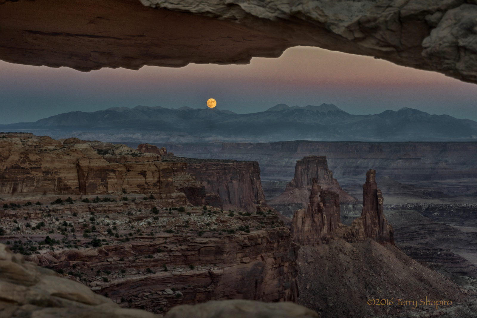 Rising of the Supermoon