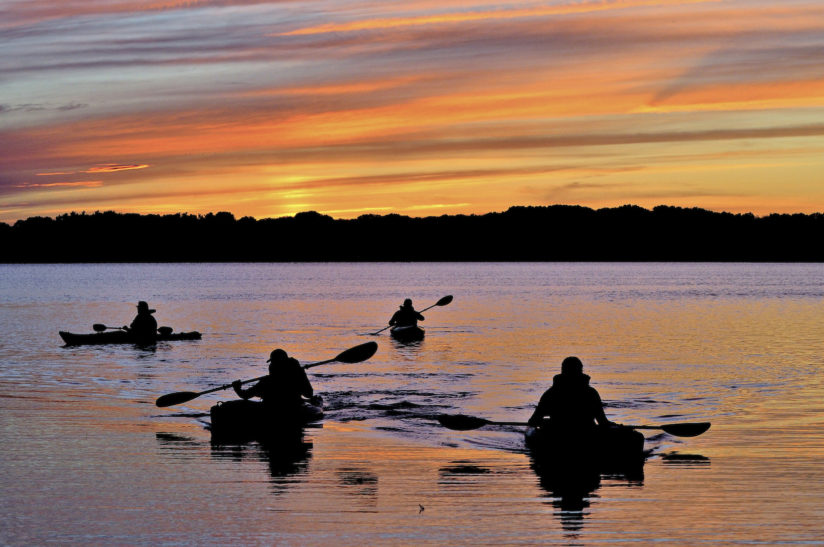 Twilight Kayakers