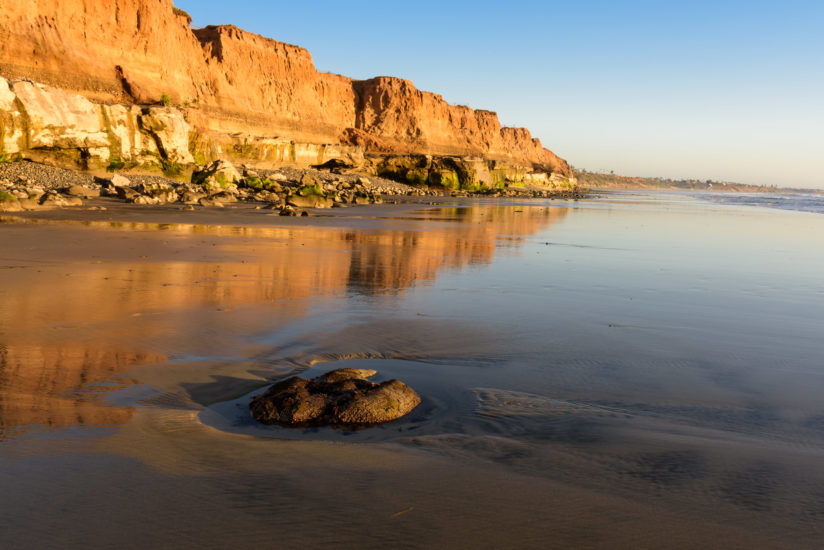 Cliffs of South Ponto Beach, Carlsbad, CA