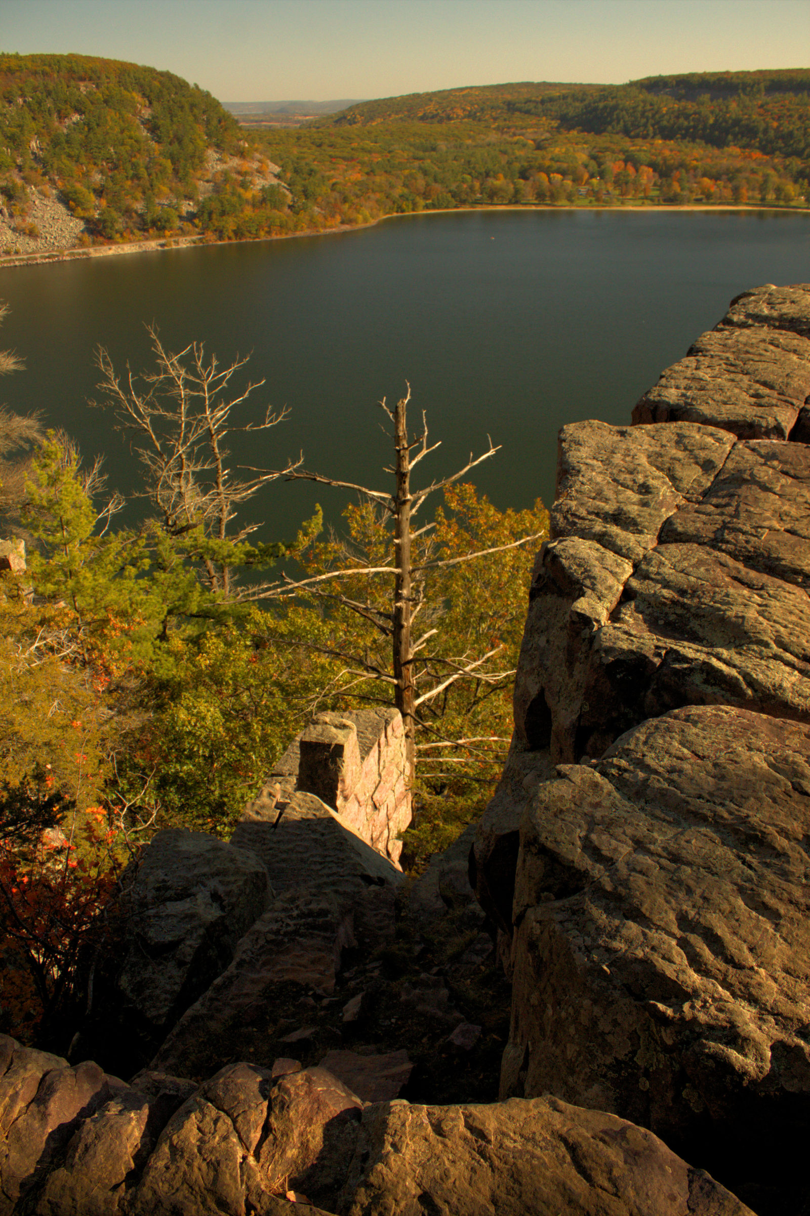 Devil's Lake Overlook