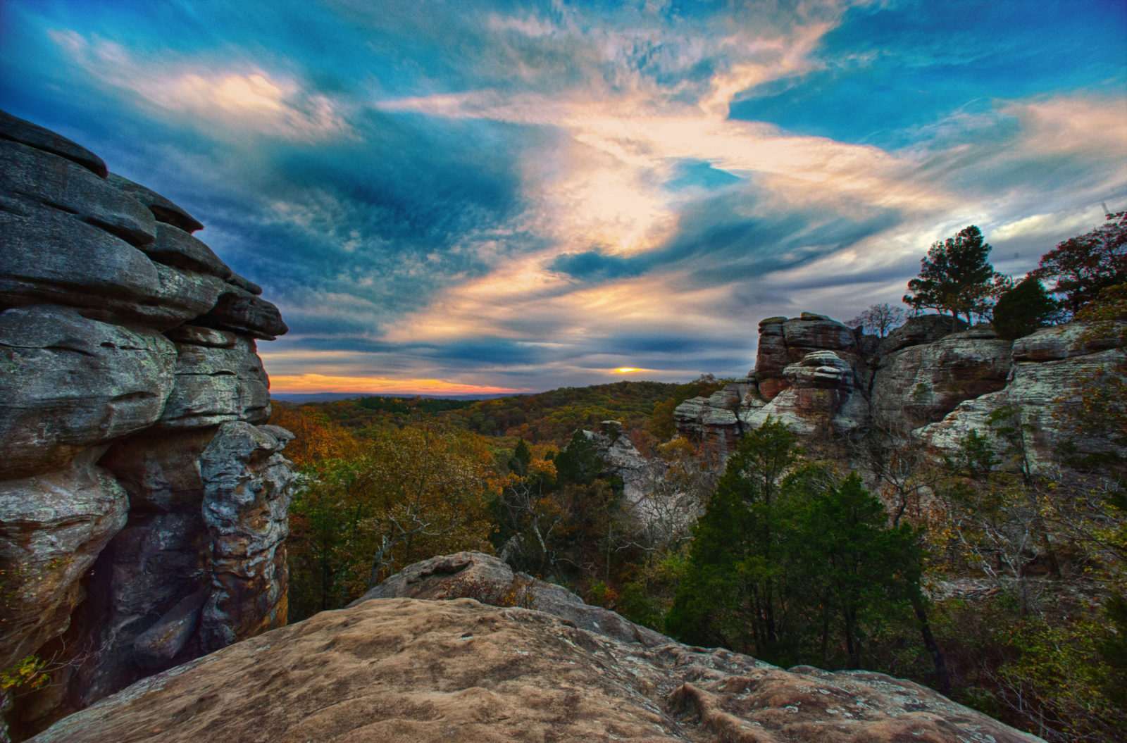 Garden of the Gods, Shawnee National Forest, Southern Illinois