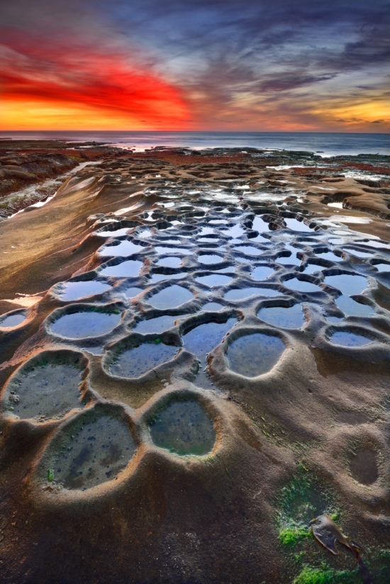 Tide Pools Sunset