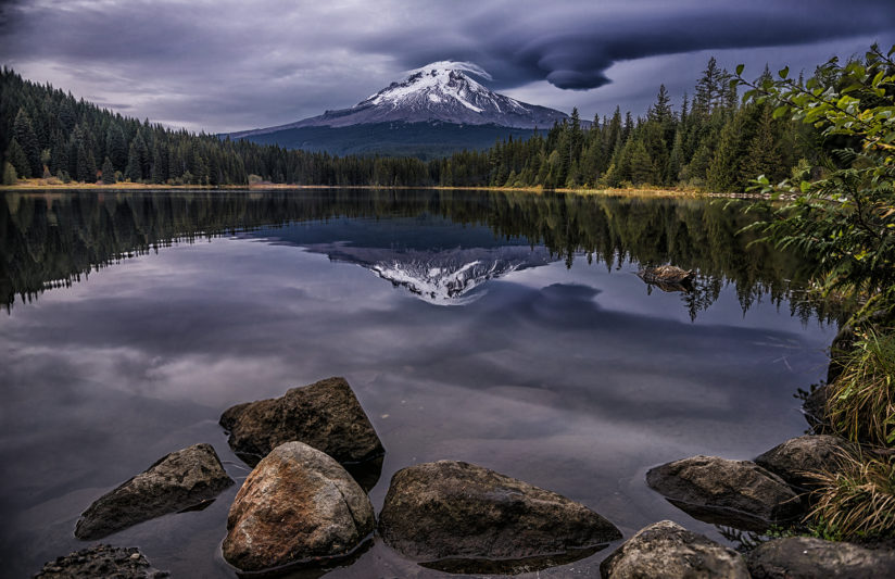 Trillium Lake Sunset