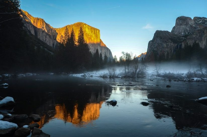 Yosemite winter wonderland