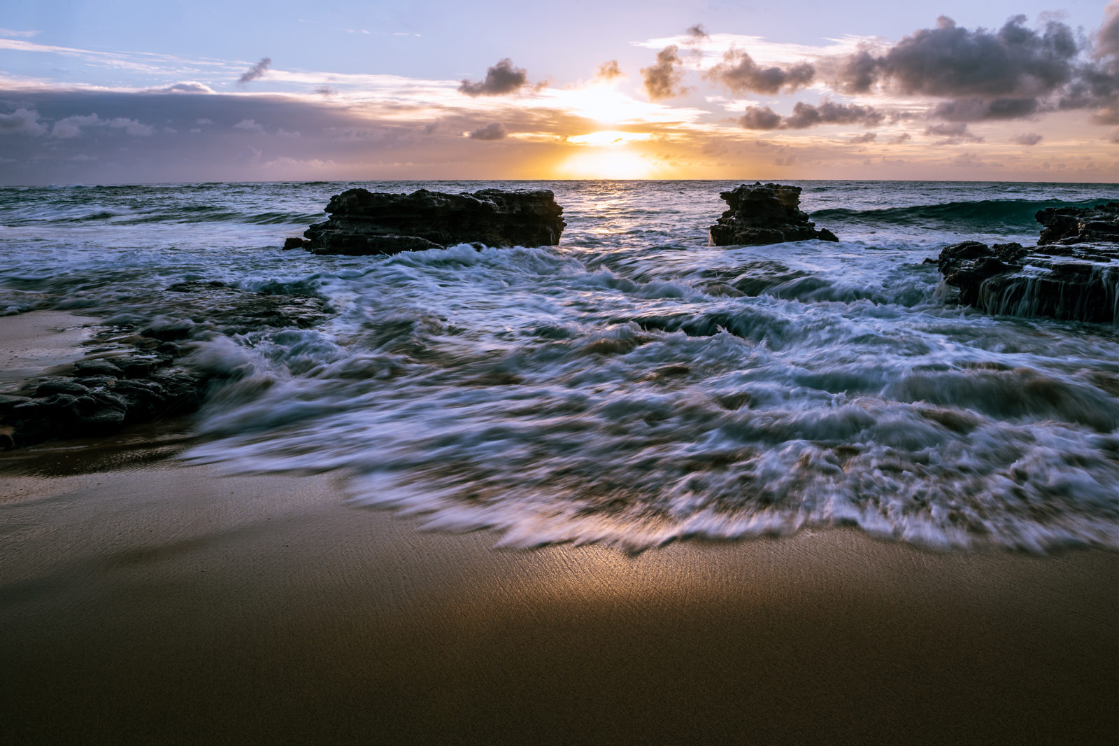 Winter Sunrise in Hawaii