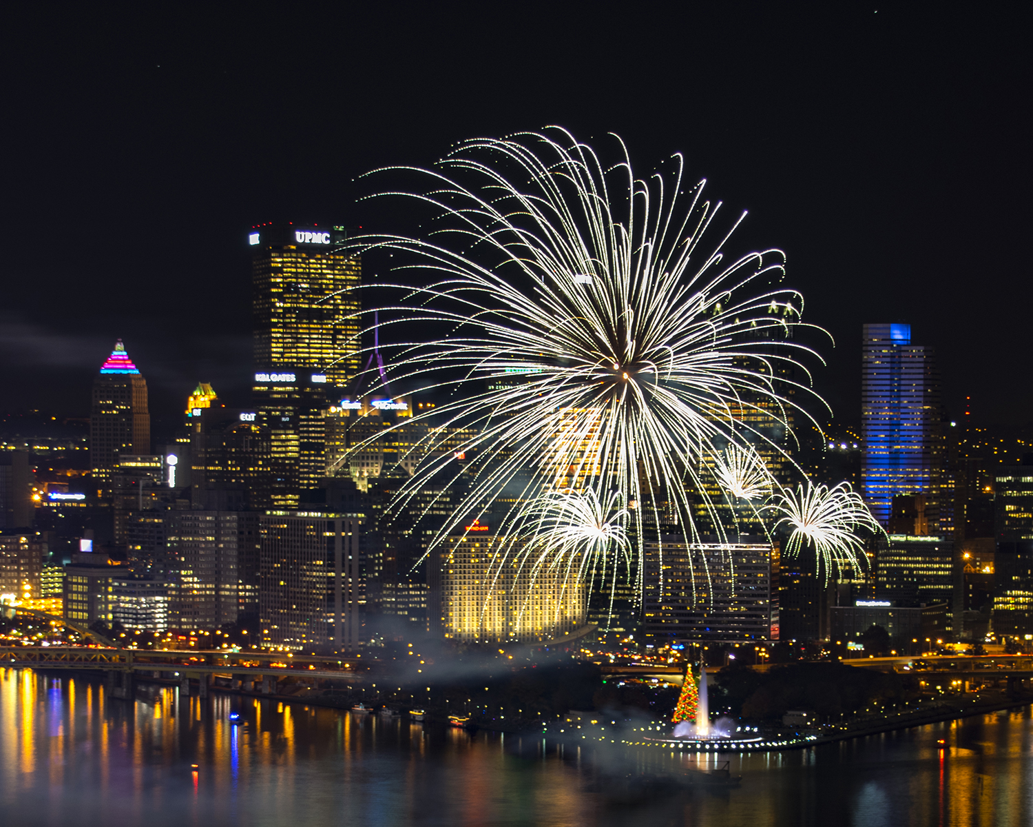 Pittsburgh Light Up Night Fireworks