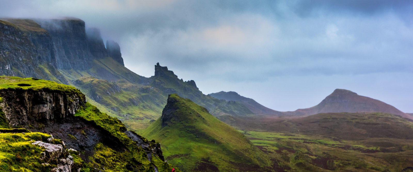 The Quiraing, Trotternish Ridge, Isle of Skye, Scotland