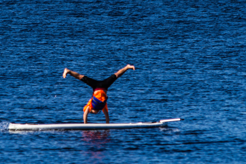 New Olympic Sport – Paddleboard Gymnastics