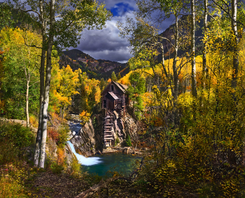 Crystal Mill Fall