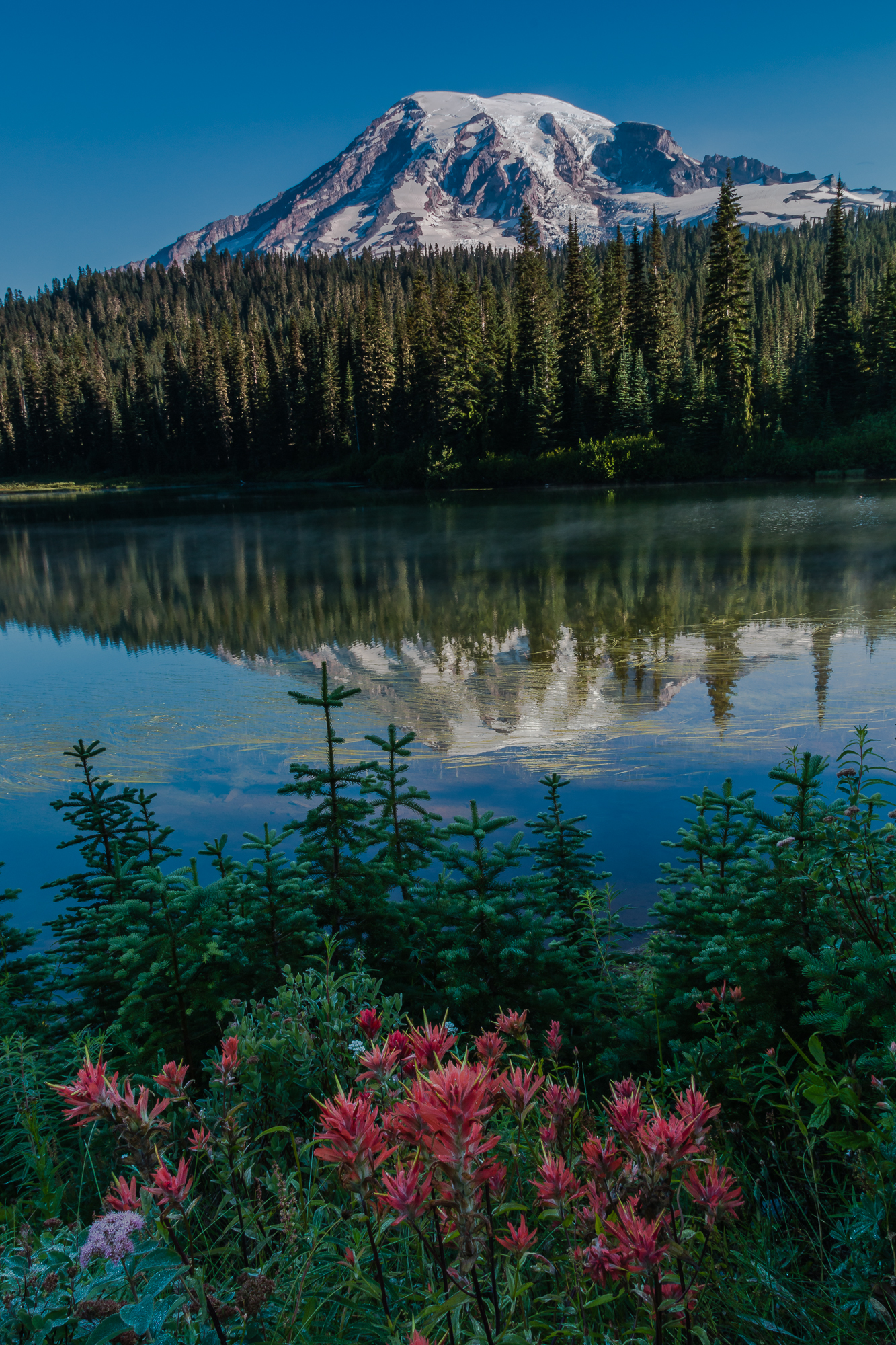 Mount Rainier Reflections Lake