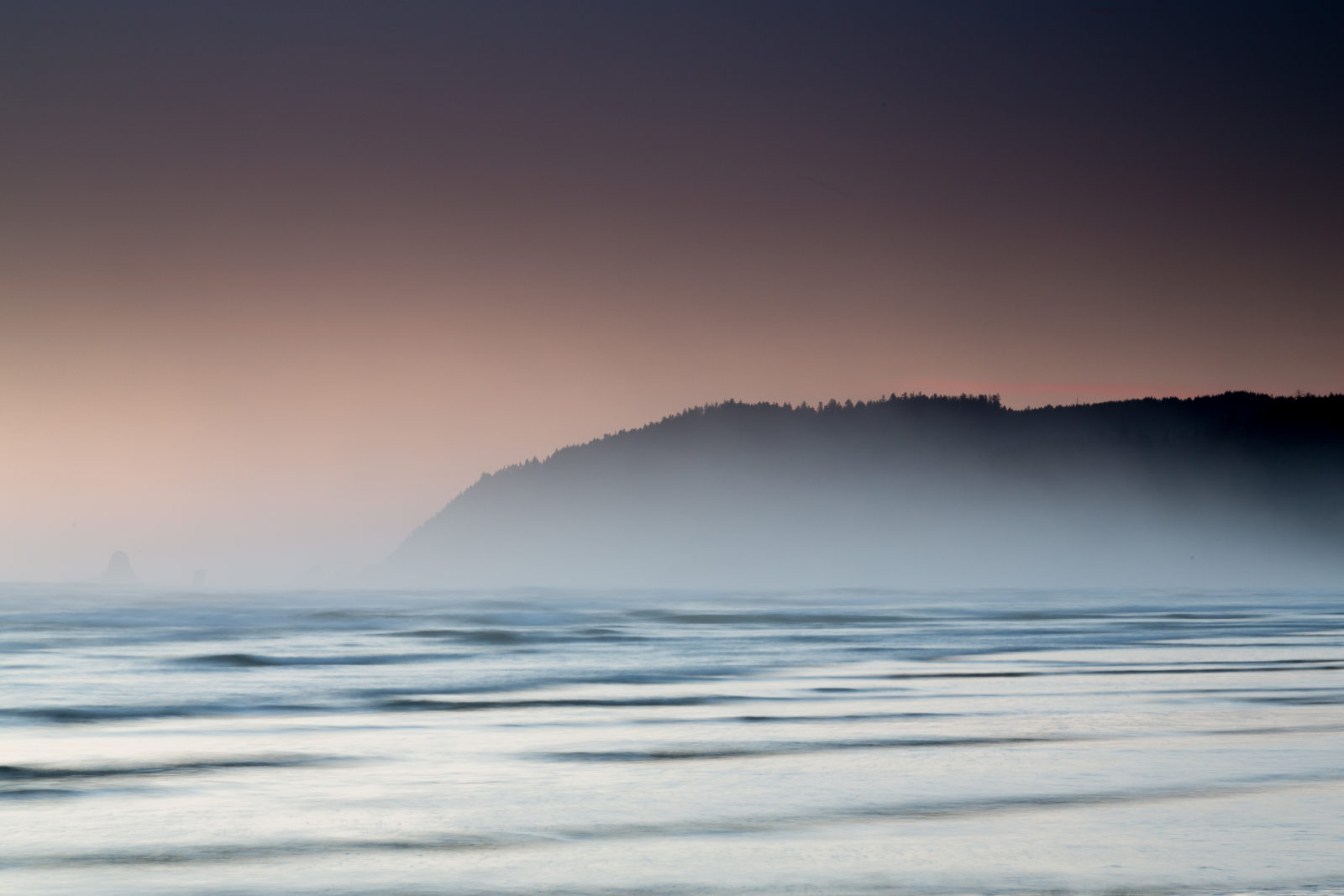 Tillamook Head at Dusk