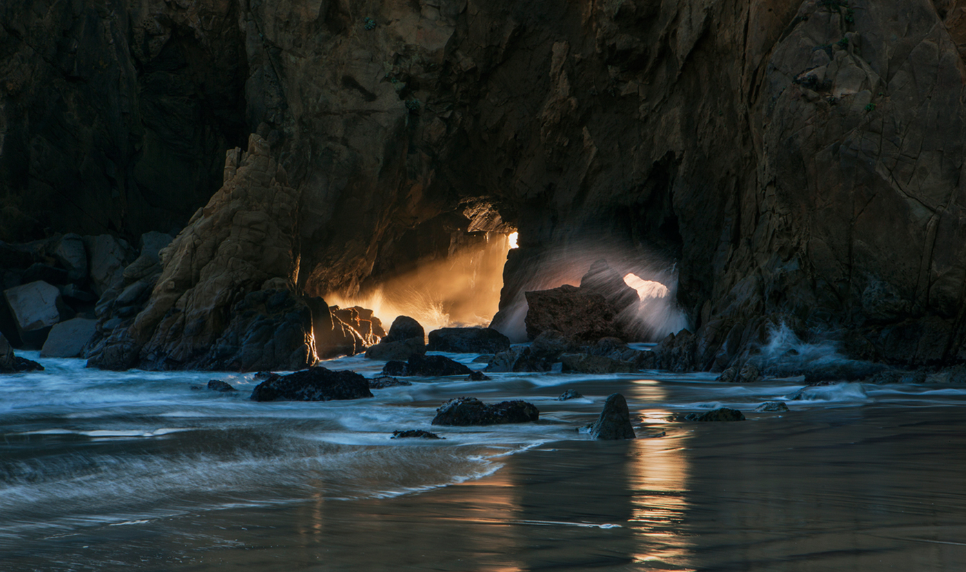 Pfeiffer Beach Caves