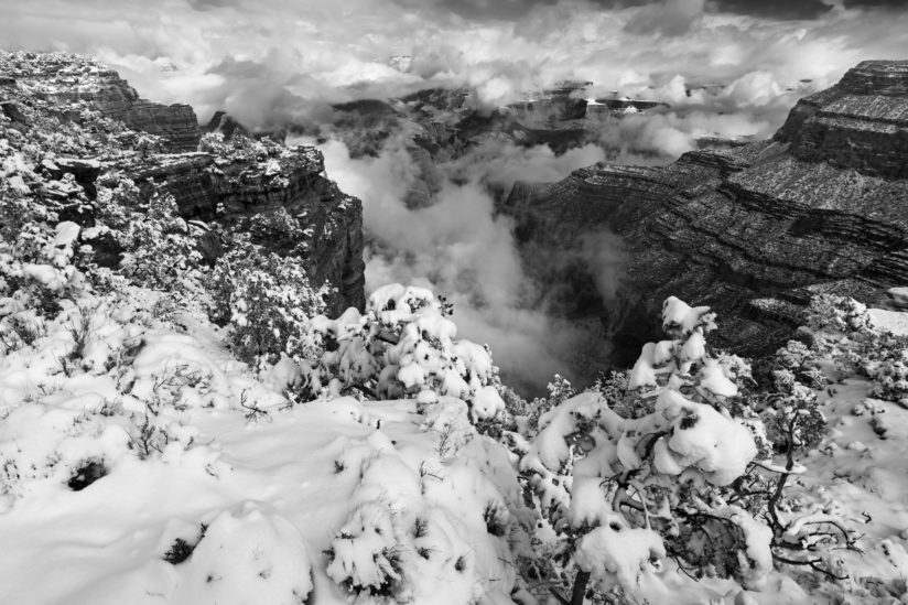 Grand Canyon B&W 1