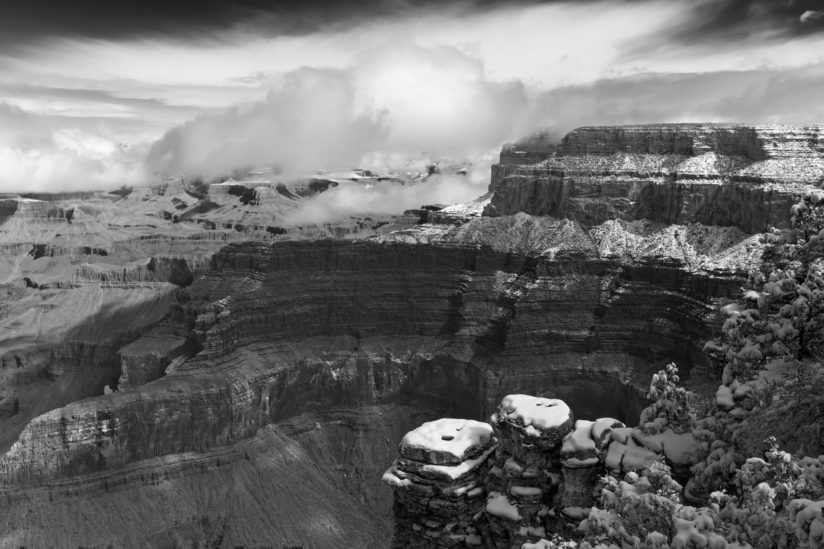 Grand Canyon B&W 2