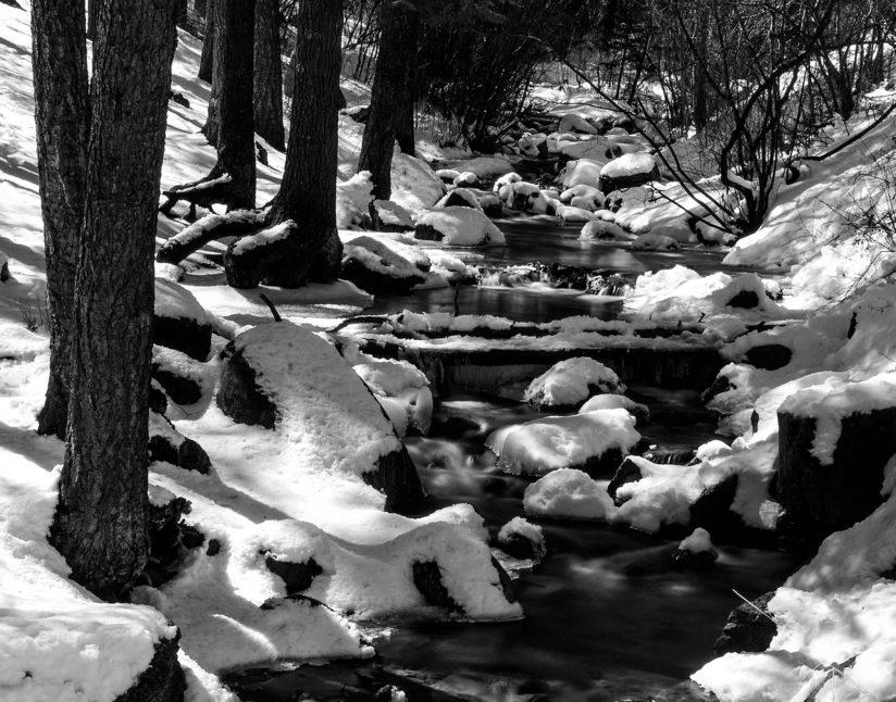North Cheyenne Creek in Winter