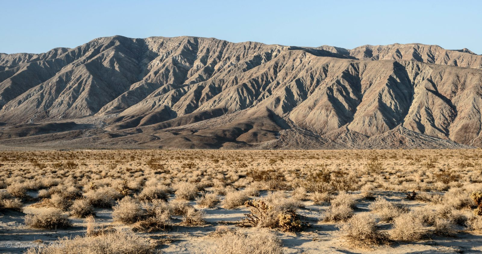 Mountains North of Borrego Springs