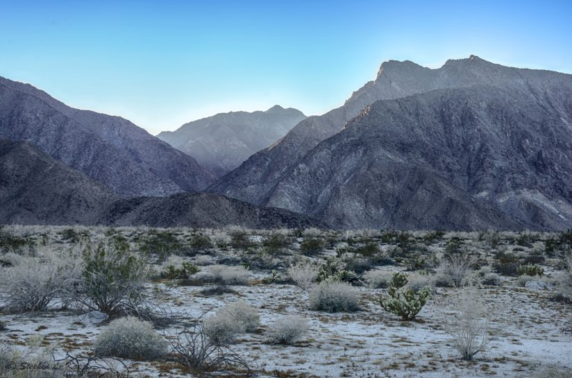 Mountains West of Borrego Springs