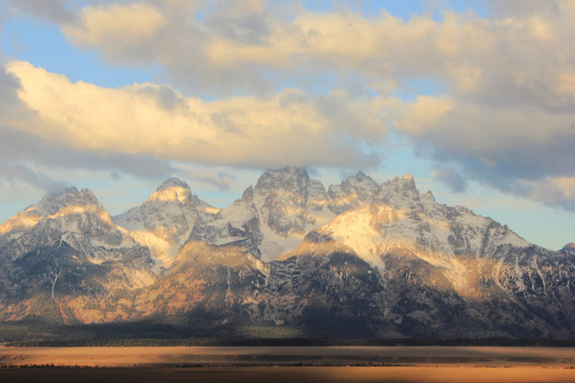 Shine on Tetons!