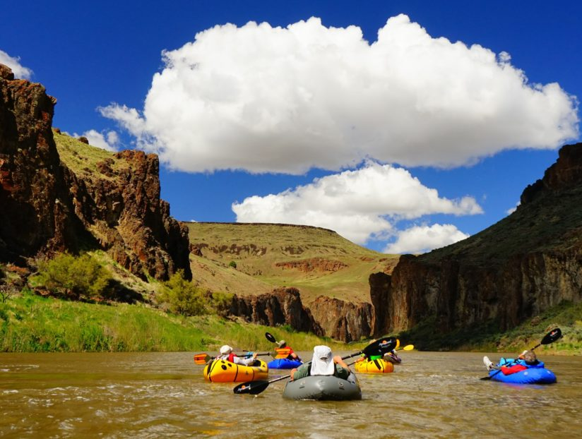 Owyhee River float