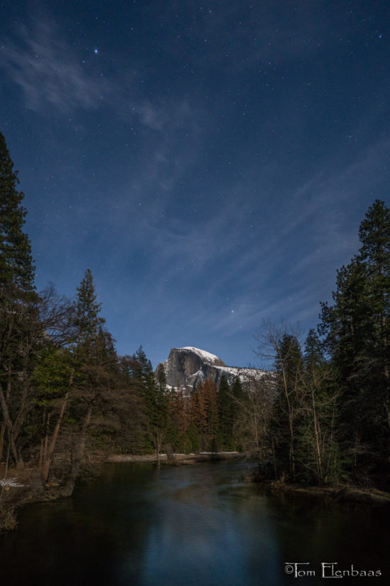 Half Dome Twilight