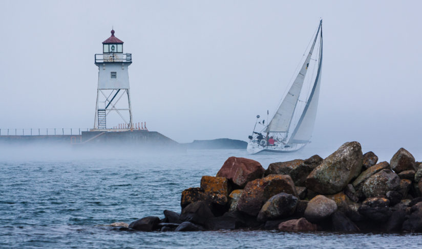 Sailing Into the Fog