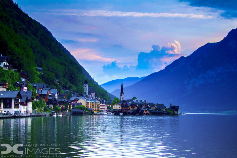 Morning Comes to Hallstatt