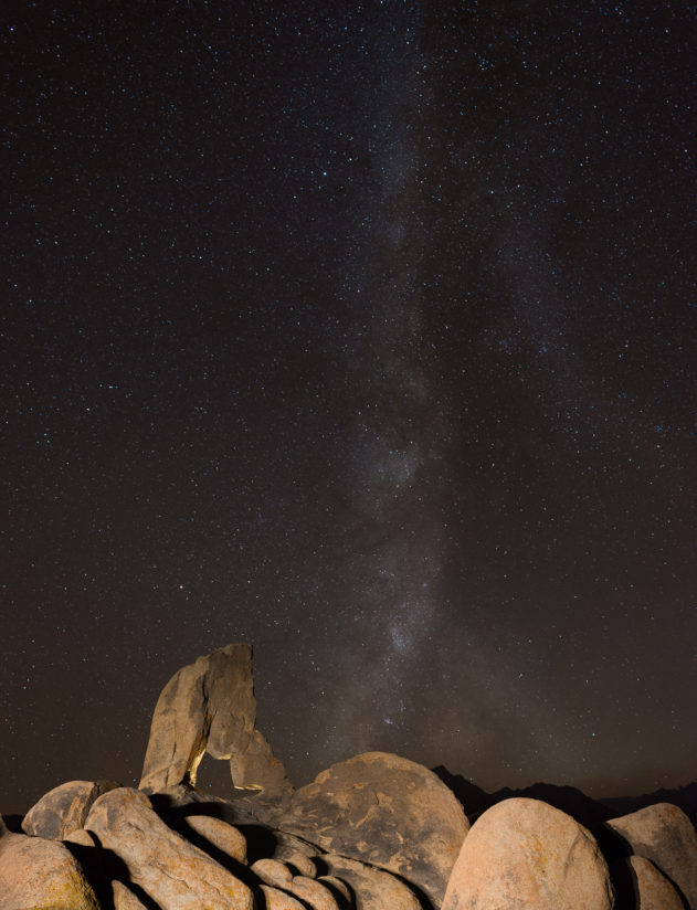 Pinnacles Under Milky Way