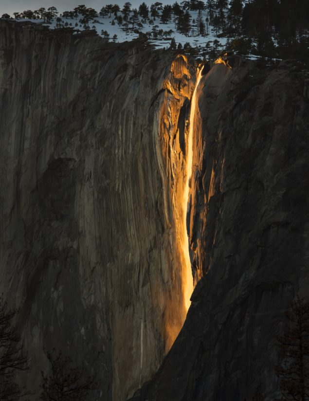 Yosemite Fire fall