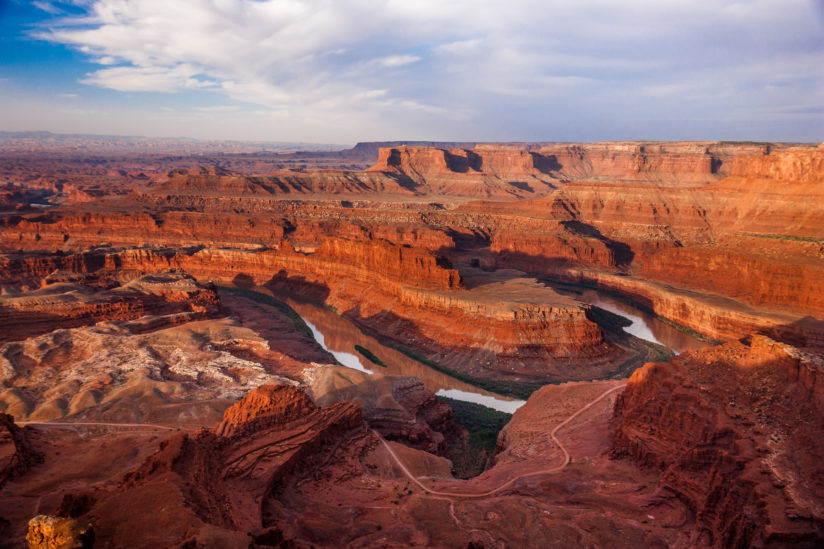 Dead Horse Point View of the Colorado River