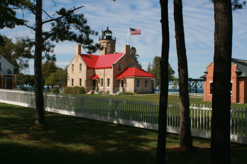 Old Mackinac Point, from the shadows