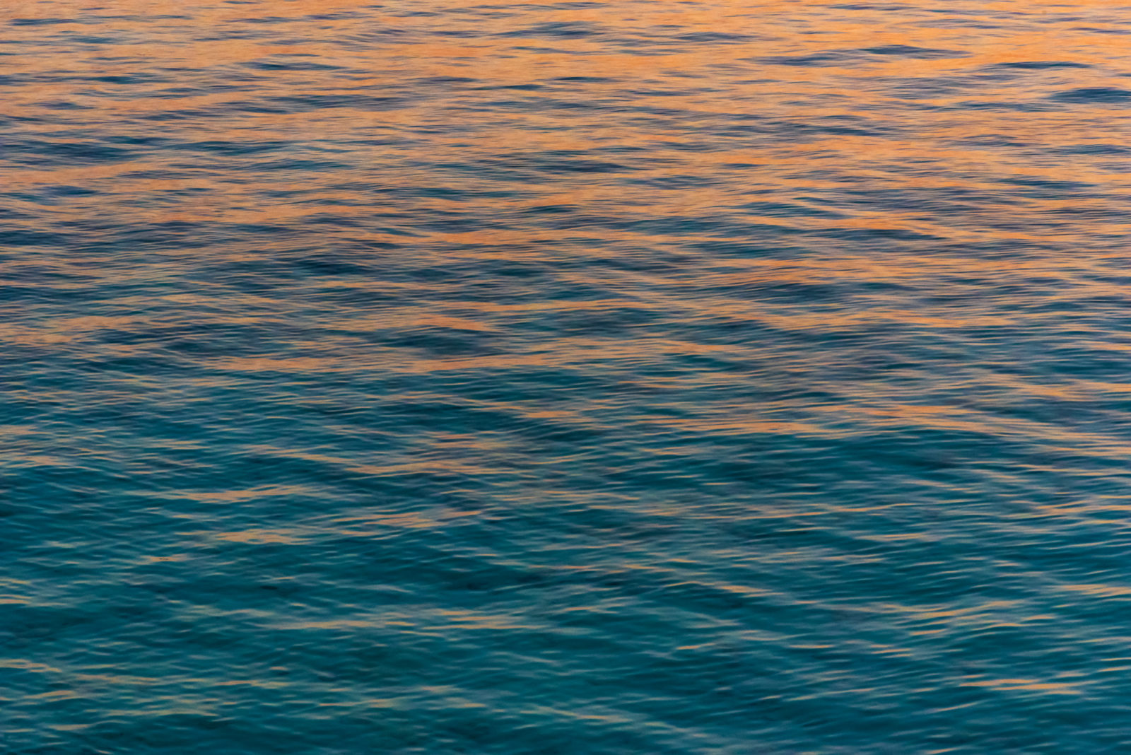 Sunset on the waves, The Maldives
