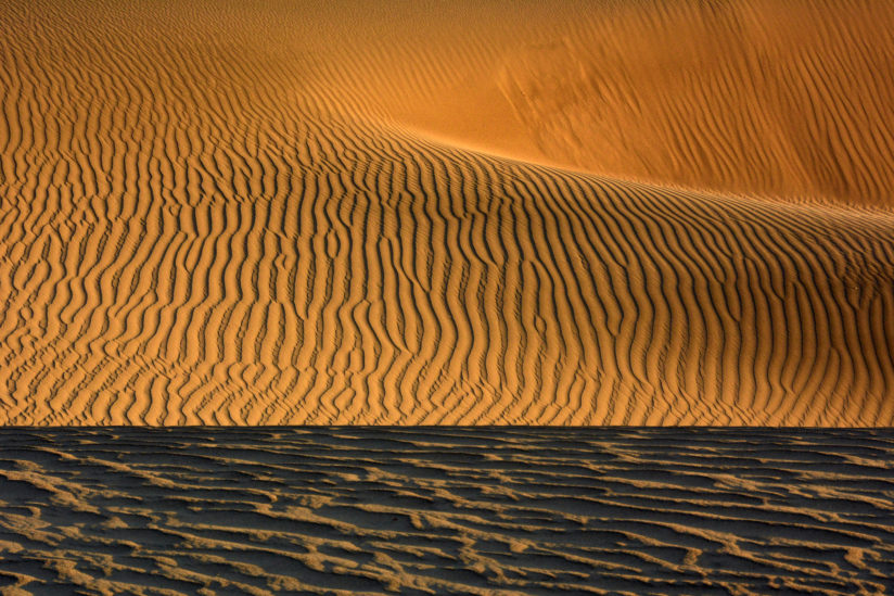 Early Morning at Mesquite Flat Dunes
