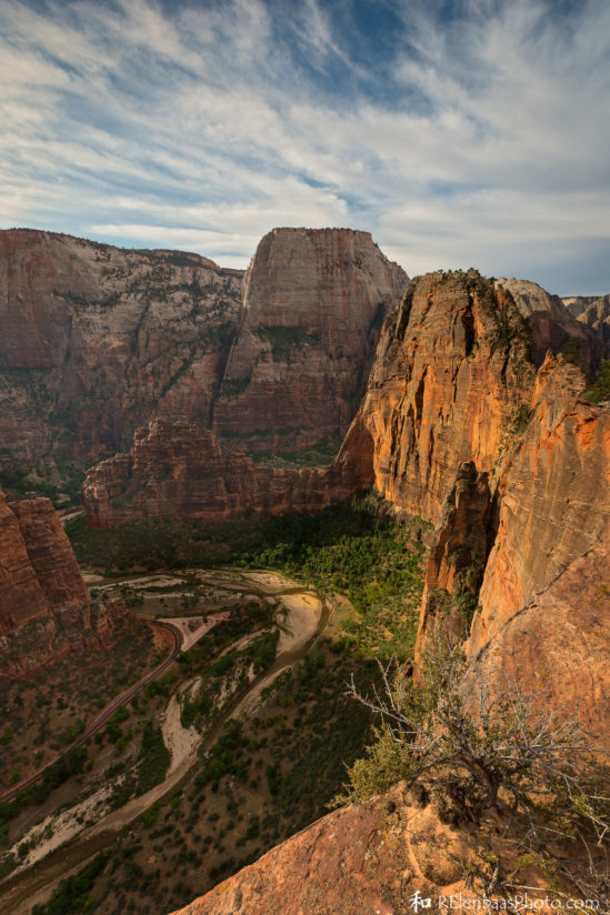 Angels Landing and the Great White Throne, Zion National Park