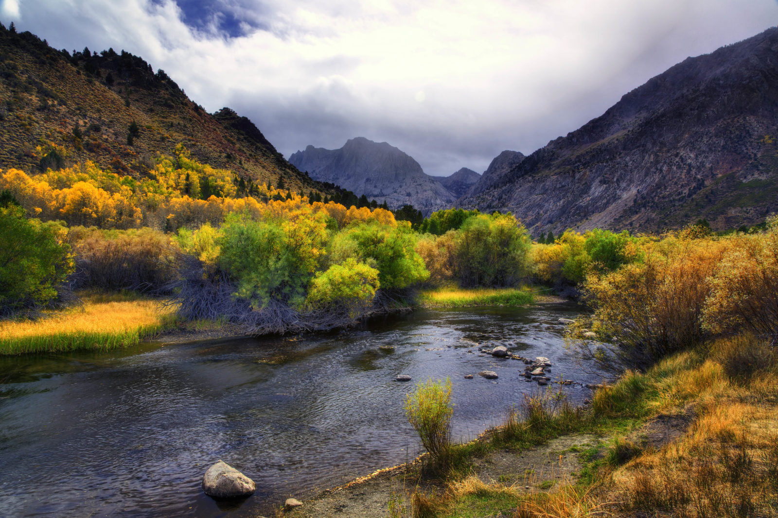 Eastern Sierra Mountain Autumn