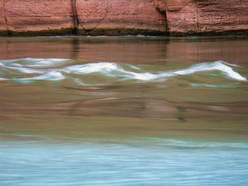 confluence, Havasu creek and Colorado