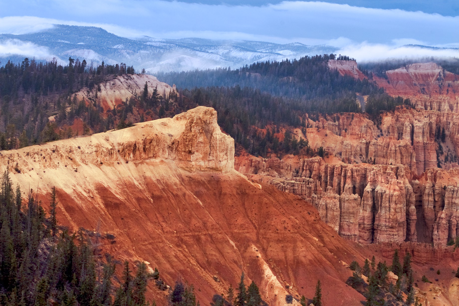 Bryce Canyon, Spring Snow
