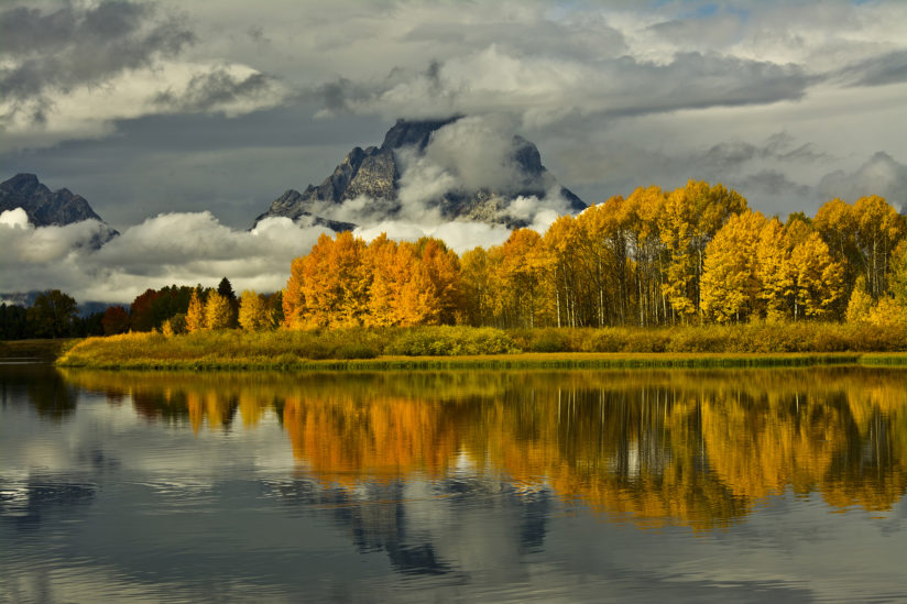 Cloudy Autumn Day at the Oxbow