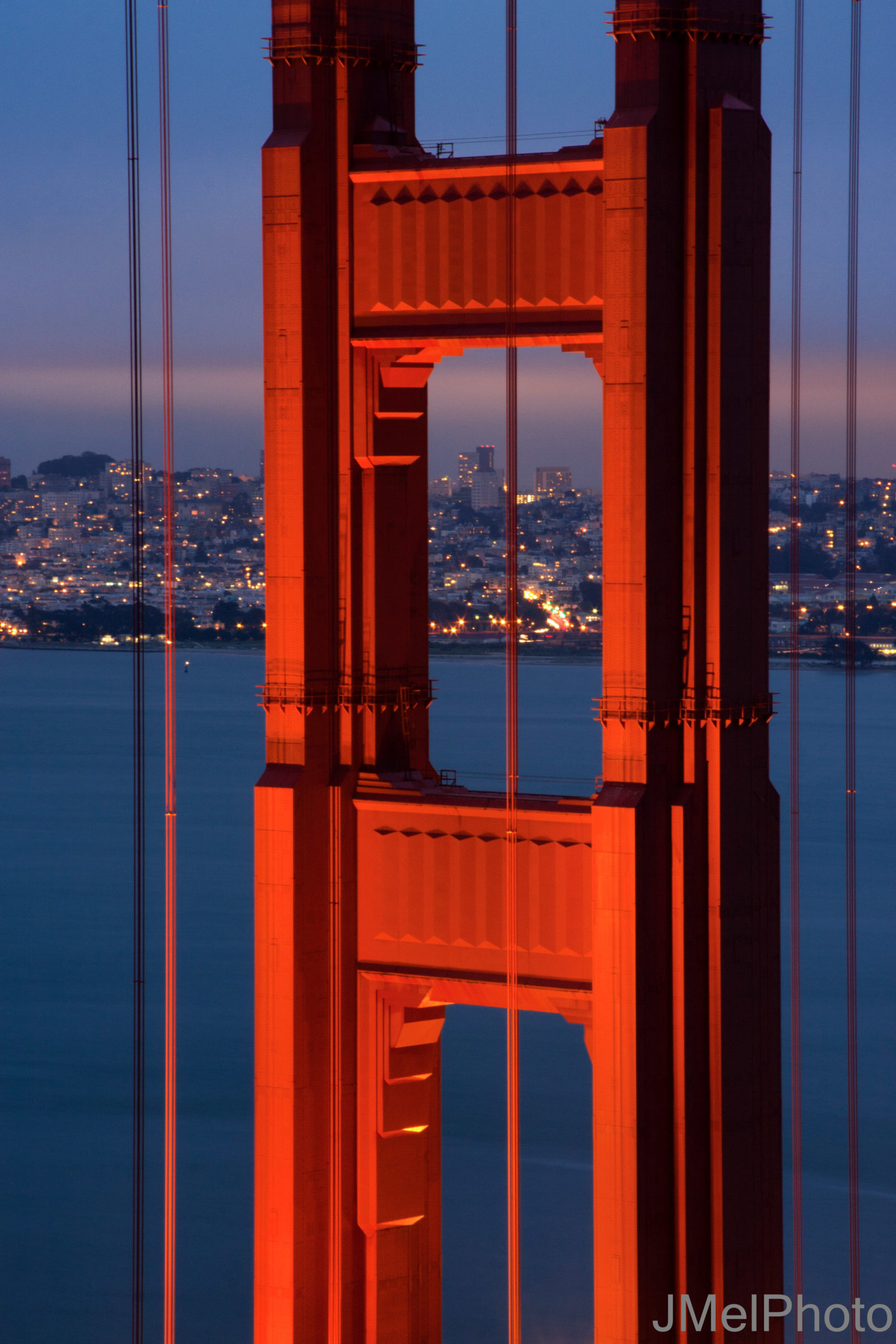 Glow of the North Tower – Golden Gate Bridge